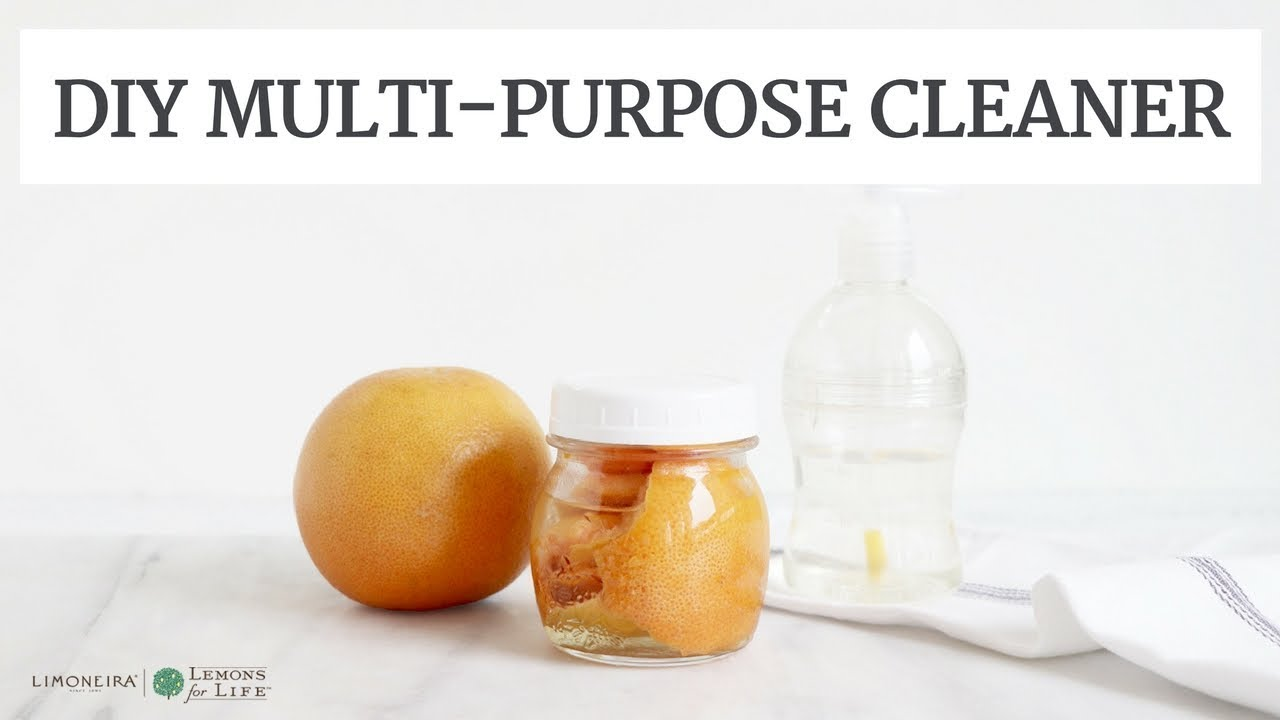 DIY Grapefruit Multi Purpose Cleaner