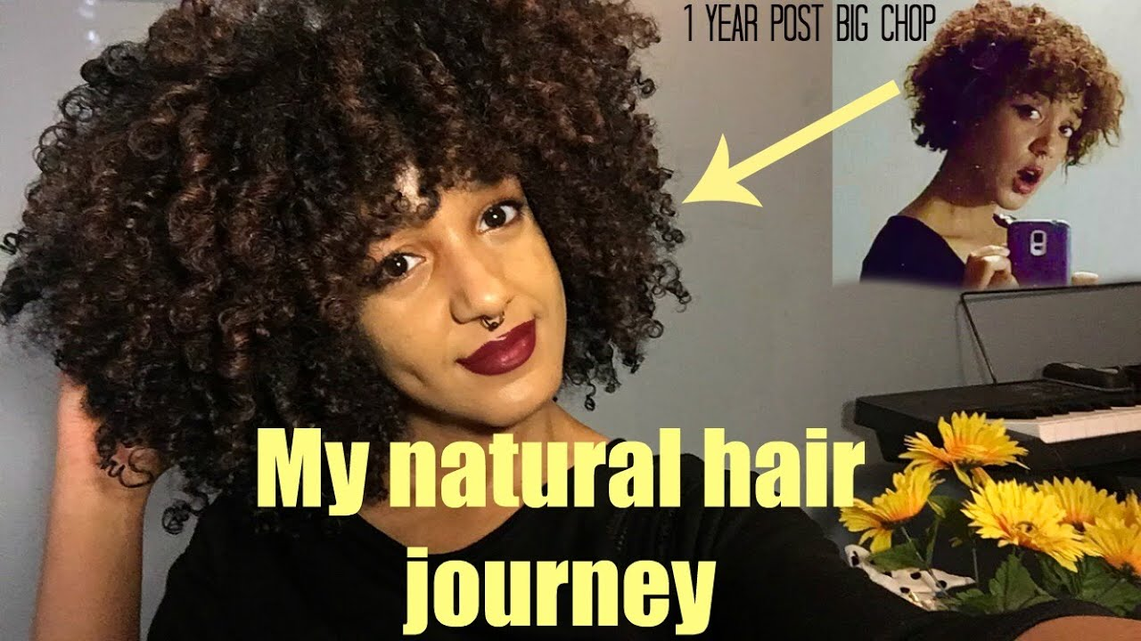 My Natural Hair Journey Big Chop