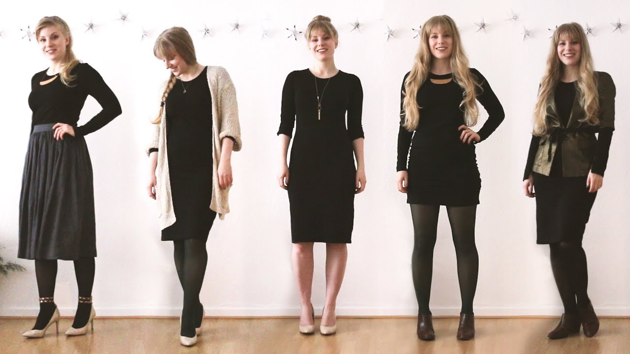 88013f2832 1 Dress 6 Ways | Wear the same dress to all your Holiday Parties ...