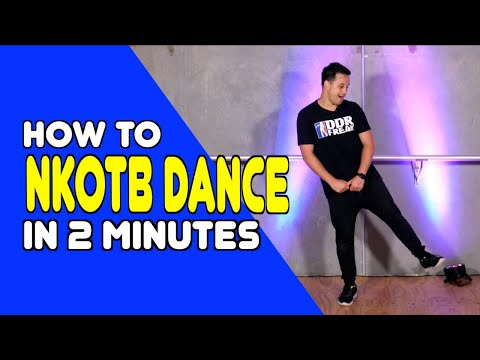NEW KIDS ON THE BLOCK DANCE - Learn In 2 Minutes | Dance Moves In Minutes