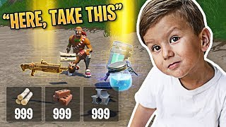 The Nicest Kid EVER in Fortnite! | Fortnite Best Moments #78