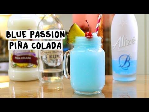 Blue Passion Pina Colada