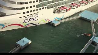 Norwegian Epic cruise Fail! It's gonna hit