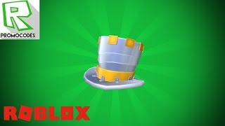 HOW to MAKE the HAT (Full Metal Tophat) in ROBLOX | Code Free ROBLOX! 🎉