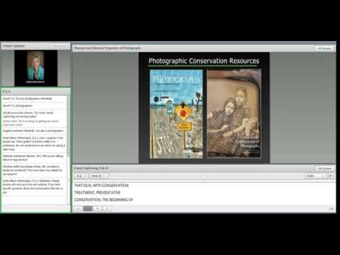 C2CC Caring for Photographs Webinar 1: Physical and Chemical Properties of Photographs
