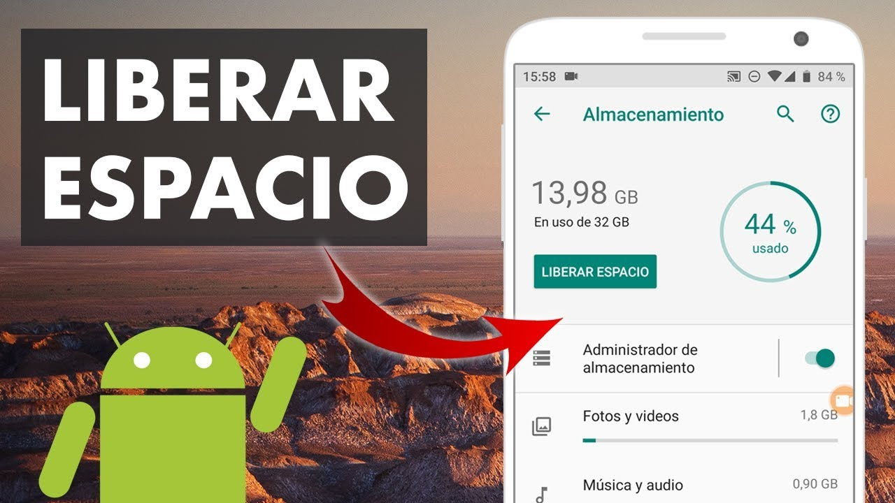 LIBERAR ESPACIO EN MI CELULAR ANDROID | MEMORIA INTERNA 📱 - YouTube