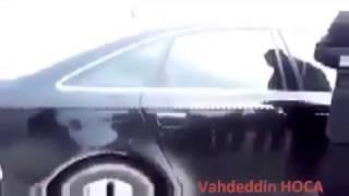 Muhsin Yazıcıoğlu arabada Namaz dan sonra iniyor