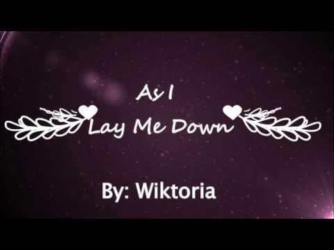 Wiktoria - As I Lay Me Down (Lyrics)
