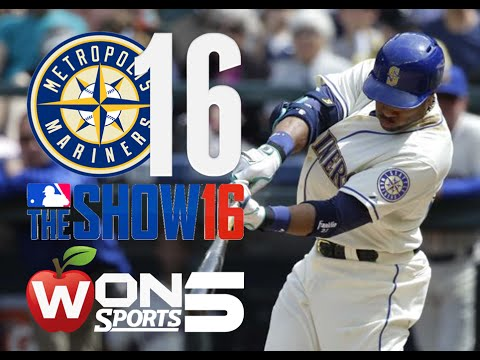 Mariners 16'-Tampa Bay Rays @ Metropolis Mariners- Game 2 (MLB The Show 16 Gameplay/Commentary)