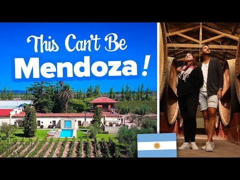 Argentina's Wine Country 🍷 It's Not What We Expected! Mendoza Wine Tour. This Is Hotel Club Tapiz.
