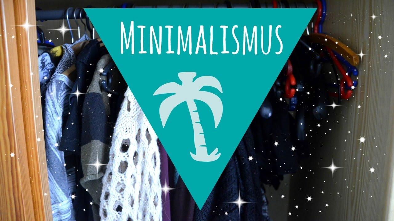 Kleiderschrank minimalismus decluttering update youtube for Youtube minimalismus