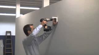 How To Install A Sreenflex Wallmounted Room Divider