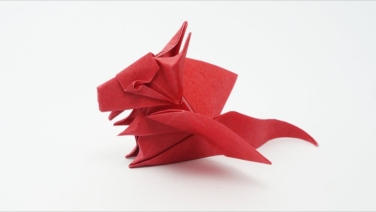 origami baby dragon jo nakashima youtube