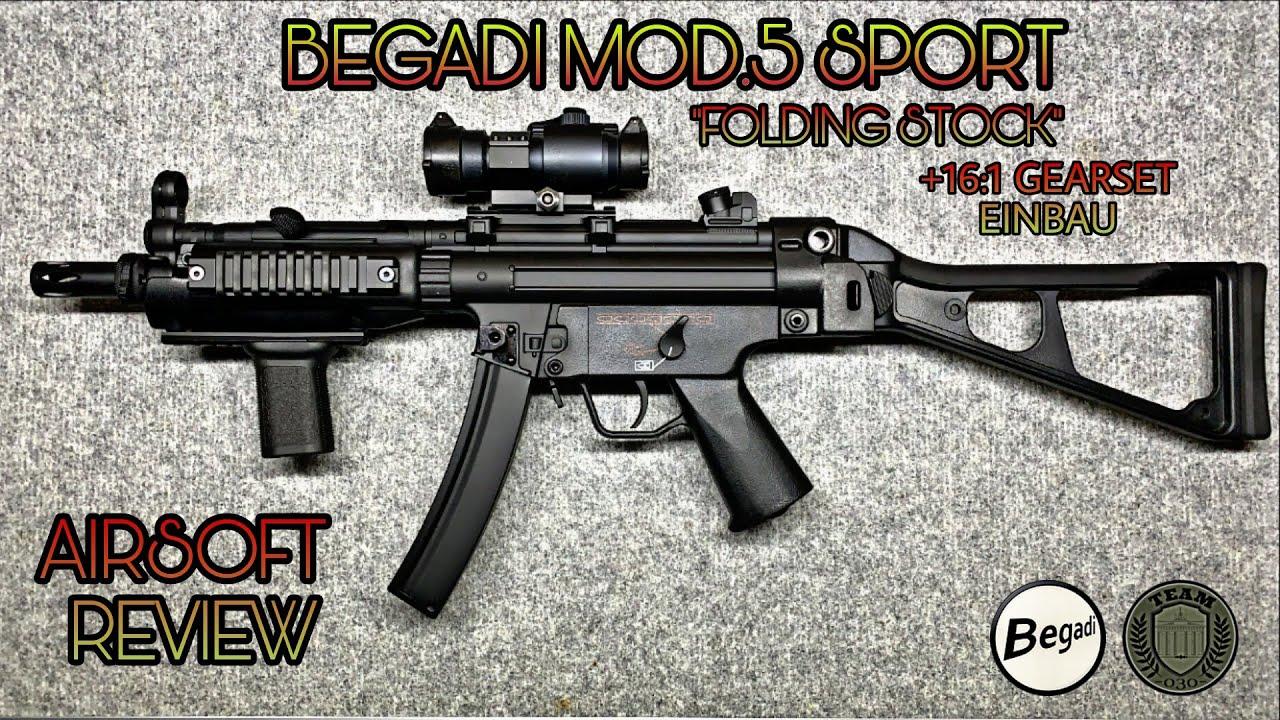 BEGADI/CYMA MOD.5/MP5 SPORT FS S-AEG [EFCS]