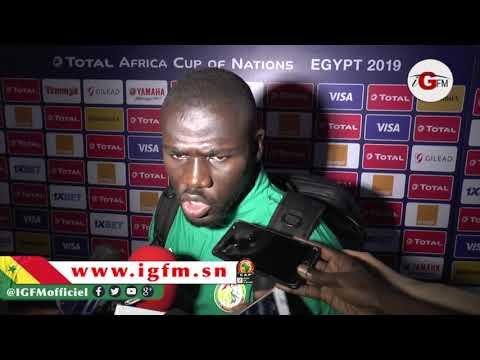 Koulibaly : On a montré un bon visage contre l'Ouganda