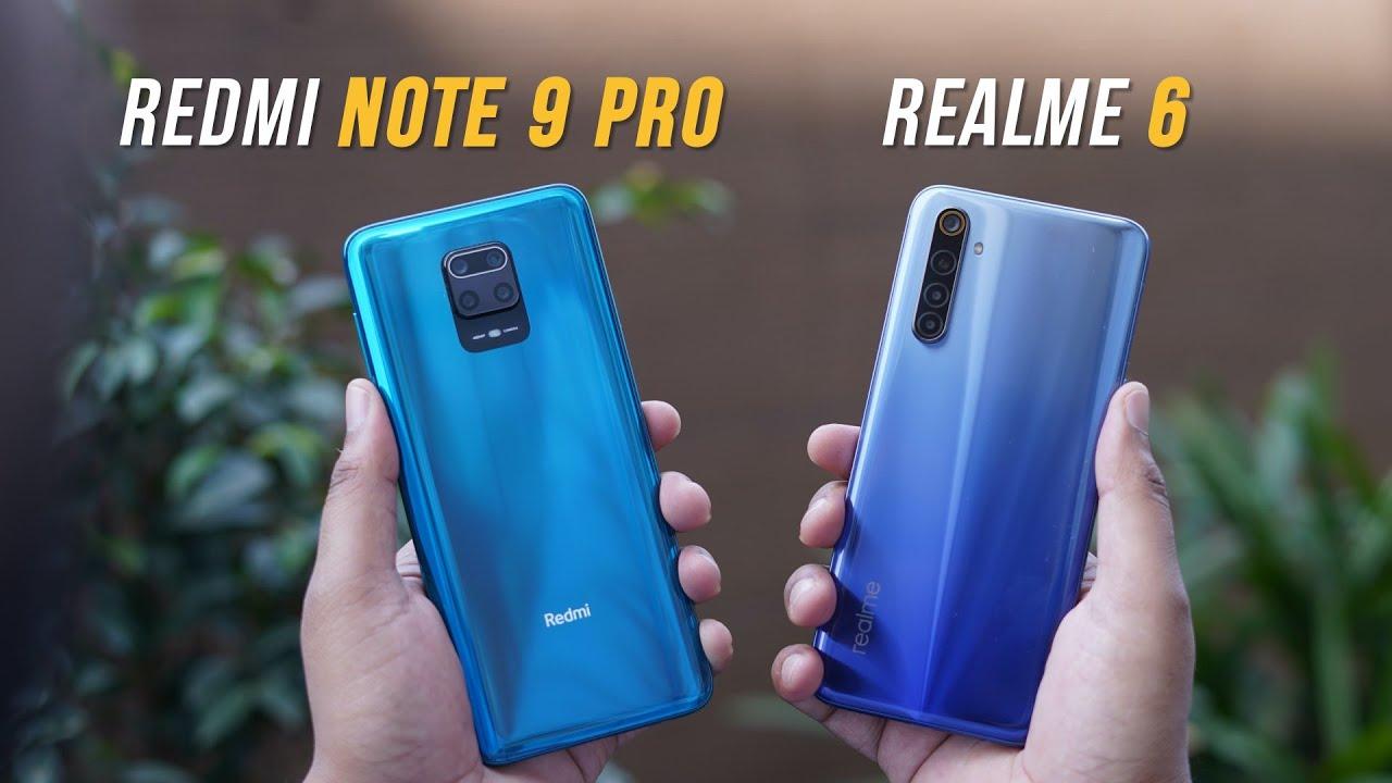 Redmi Note 9 Pro vs Realme 6: The New Budget King?
