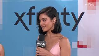 Vanessa Hudgens Red Carpet Interview - AMAs 2018