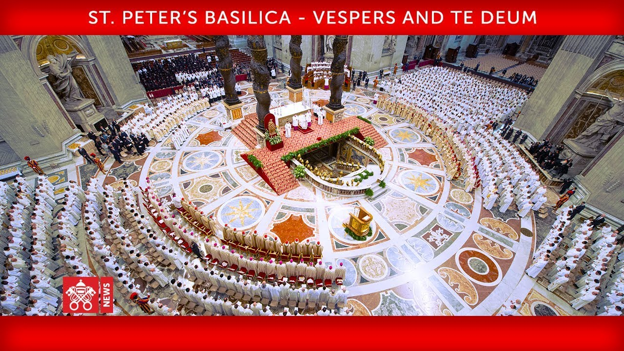 Pope at Te Deum: 'Jesus unleashes the power of love