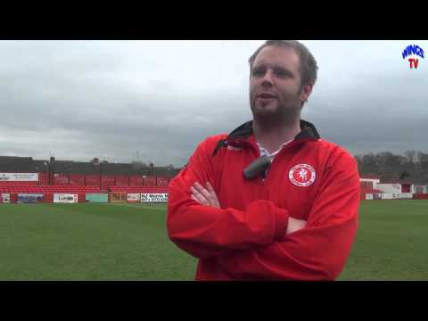 WingsTV Jamie Day and Lee Clarke Freeview after Alfreton Town V Welling United