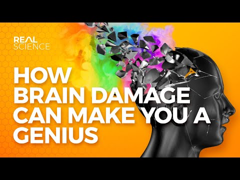 How Brain Damage Can Make You a Genius