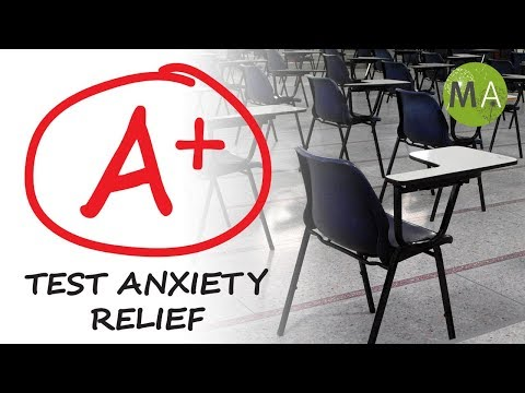 Test Anxiety Relief, Exam Anxiety Meditation Music, Exam Stress, Isochronic Tones