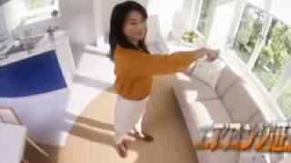 夏川結衣、黒瀬真奈美 中国電力2009CM.