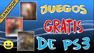 JUEGOS PS3 GRATIS || GANADOR DEL SORTEO SEMANAL
