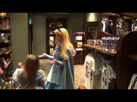 Shopping with Alice in Wonderland