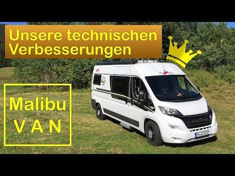 Malibu Van - Unsere technischen Erweiterungen