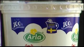 Höjd ersättning till sveriges mjölkbönder - Nyheterna (TV4)