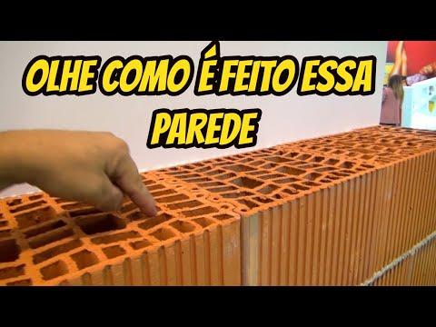 OLHE COMO É FEITO ESSA PAREDE!!!