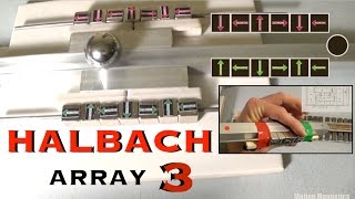 Experimenting with the Halbach Array. Part 03