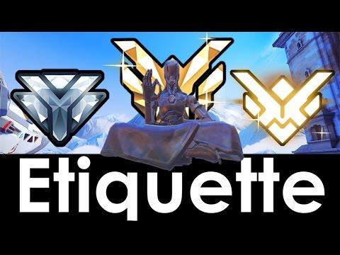 Overwatch Etiquette