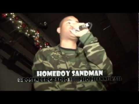 "Homeboy Sandman - Kills ""The Carpenter"" @SOBs HipHop Hannukah"