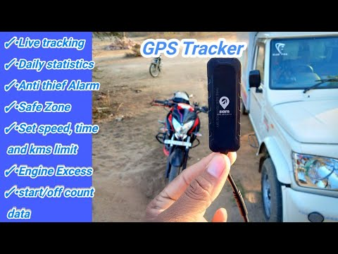 #SAM #GPS For Your Vehicle (Car,Bike,Bus,Truck) /Best Gps Device for Bike And Car #100kmphbiker