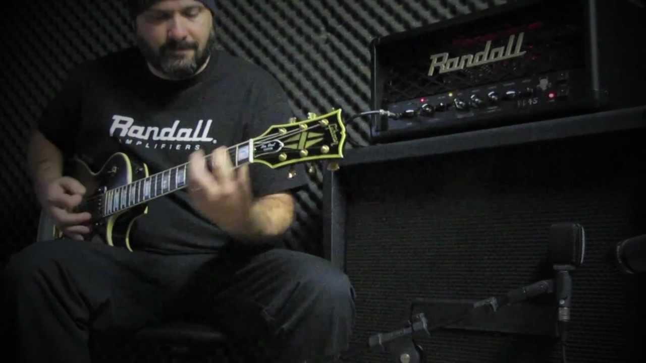 RD45H Diavlo 45W Tube Guitar Head Black