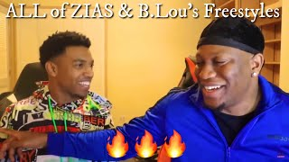 ALL of ZIAS & B.Lou's Freestyles Compilation (2 HOURS)