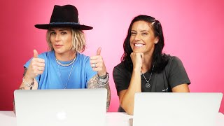 Ali Krieger and Ashlyn Harris Take A Relationship Quiz