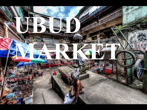 Best Bali Shopping - Ubud Traditional Art Market