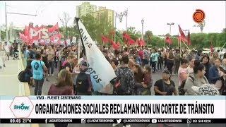 Organizaciones sociales marchan por los trabajadores de Minetti