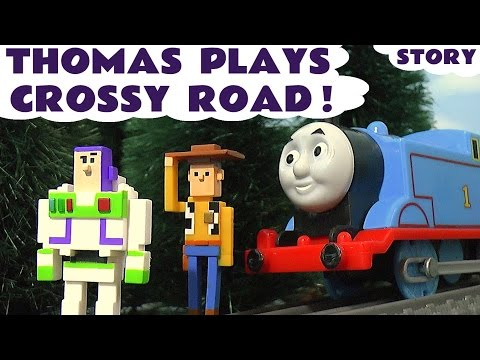 Thomas and Friends Toy Trains play Disney Crossy Road New Toys with Play-Doh Minions Toy Story TT4U