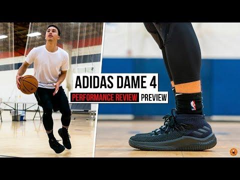 Adidas Lillard MI Dame 4 custom basketball shoes