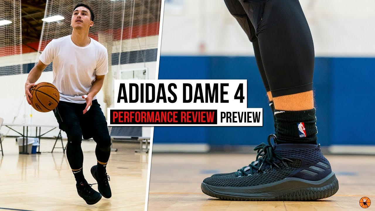 ALL TIME GREAT  adidas Dame 4 Performance Review - YouTube de437b2a3