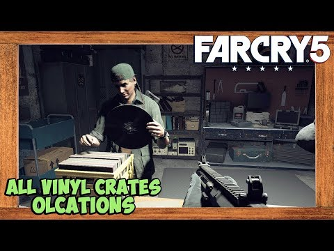 Far Cry 5 All Vinyl Crates Locations Far Cry 5 Collectibles