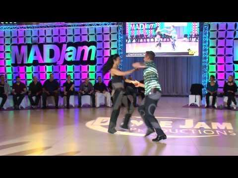 MADjam 2017 Champions Jack & Jill Benji Schwimmer & Susan Kirklin