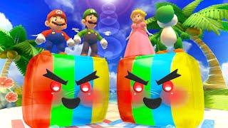 Mario Party The Top 100 MiniGames - Mario Vs Peach Vs Luigi Vs Daisy (Master Cpu)