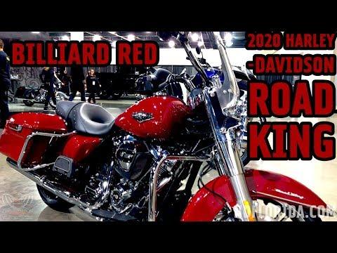 2020 HARLEY-DAVIDSON ROAD KING IN BILLIARD RED
