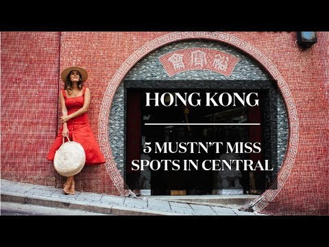Travelling in Hong Kong: 5 Places In Central You Don't Want To Miss