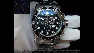 Invicta Pro Diver 10579 Silver Swiss Movement Часы мужские 3c2b9dc8577