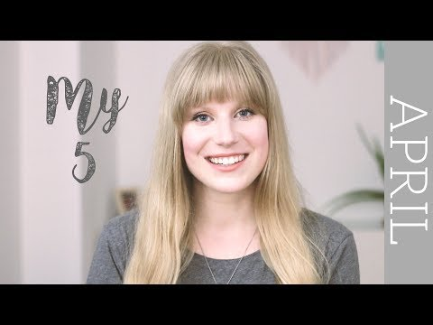 April 'My 5' | eco-friendly favourites